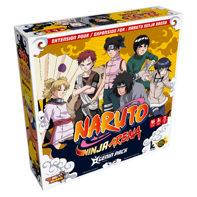 Naruto Ninja Arena VF - Extension Genin Pack